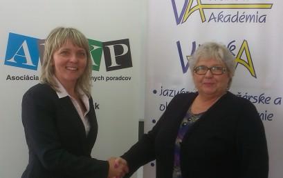 Memorandum o spolupráci medzi ALKP a Vranovskou vzdelávacou a kultúrnou akadémiou