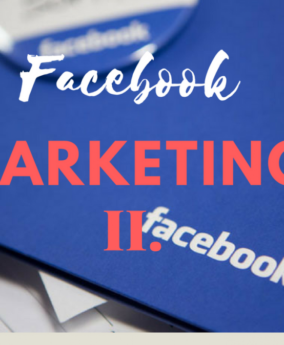 Facebook marketing II. , 29.05.2018 BB