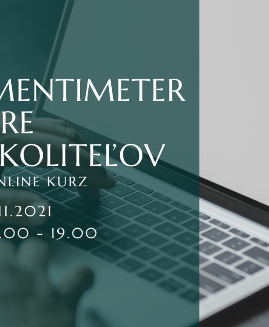 Mentimeter pre školiteľov, online kurz, 3.11.2021