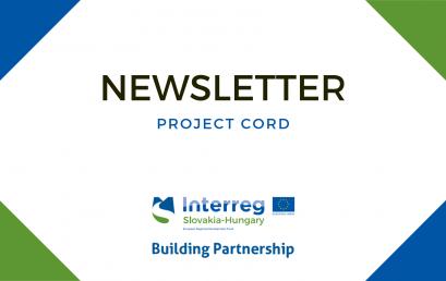 Newsletter č. 18: Projekt CORD vo svojom finále. Ďakujeme.