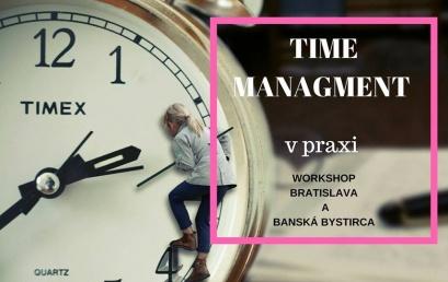 Ako ste na tom v manažmente času?